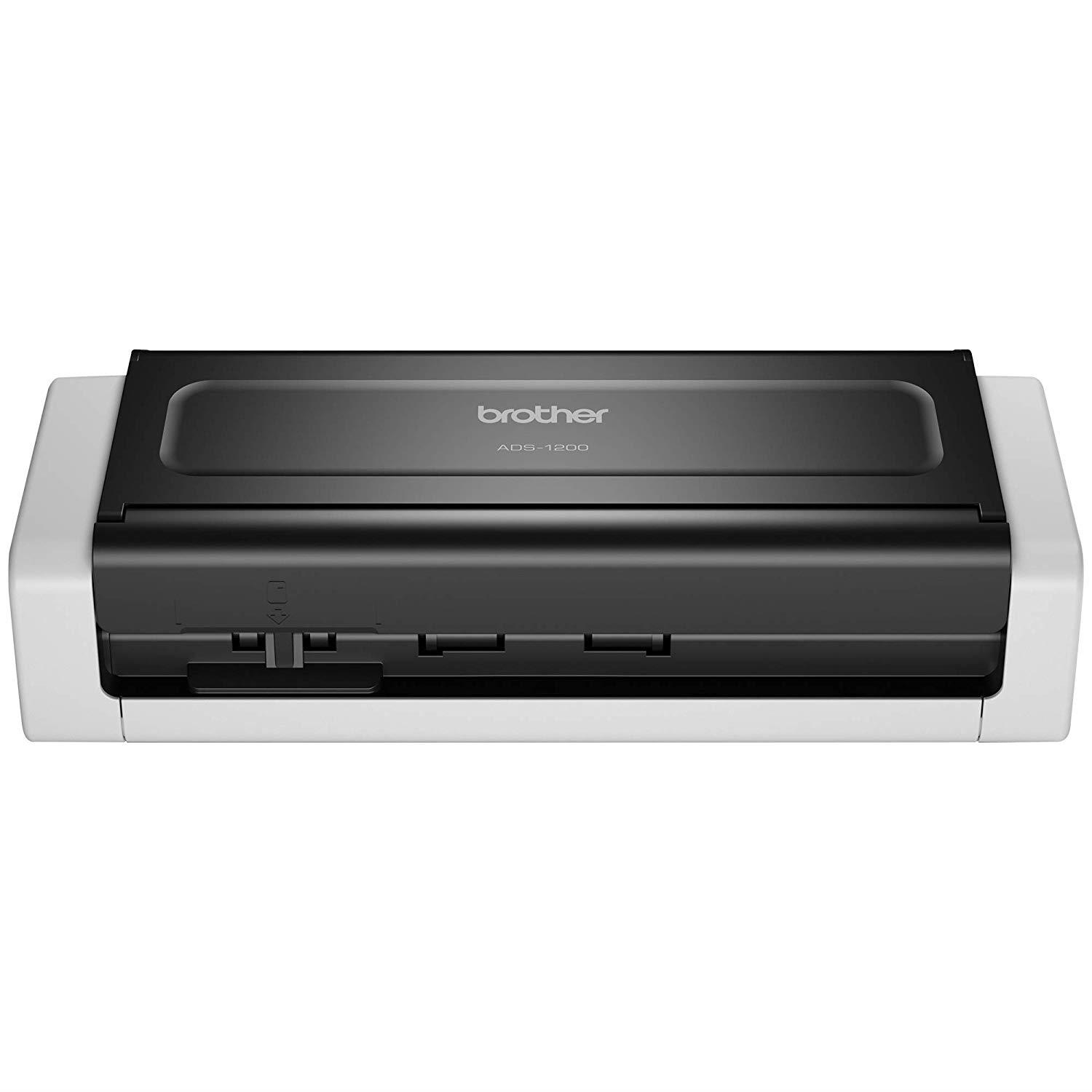 Brother ADS-1200 Document Scanner | Compact | PC Connected | Desktop