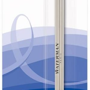 Waterman Ballpoint Pen Refill, Medium Tip with Blue Ink